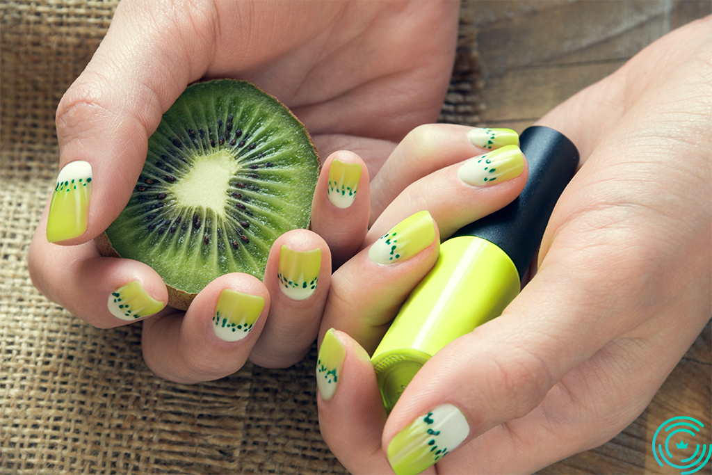 Nail Art Fruit Design