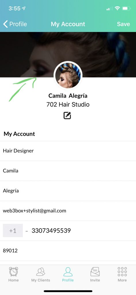 How to change avatar from My Account on Ring MY Stylist App