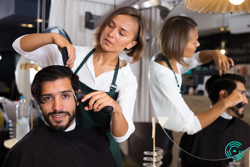FEMALE BARBERS DEFIED GENDER ROLES