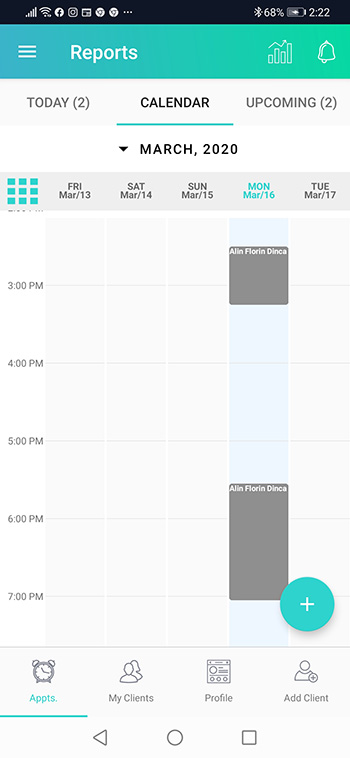 personal appointment app calendar